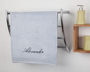 besticktes Handtuch